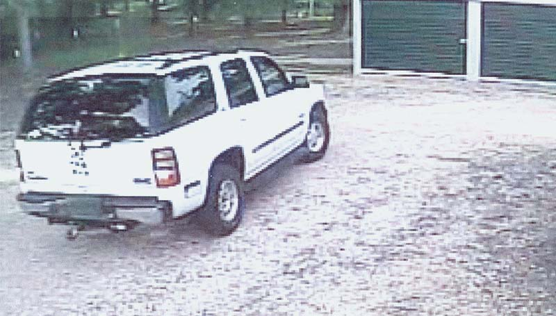 """THE DAILY LEADER / PHOTO SUBMITTED / The Brookhaven Police Department is seeking information from the public on this """"vehicle of interest."""""""