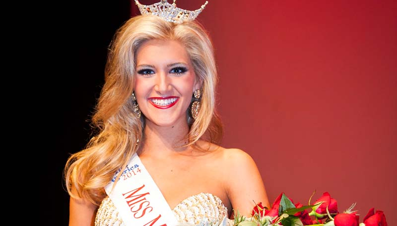 Photo By RUSS HOUSTON/MSU / Laura Lee Lewis was crowned recently as the new Miss Mississippi State University. The daughter of Mark and Lorin Lewis, she is a 2011 Brookhaven High School graduate.