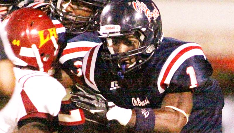 DAILY LEADER / JONATHON ALFORD / Brookhaven junior running back Jermone Kelly.