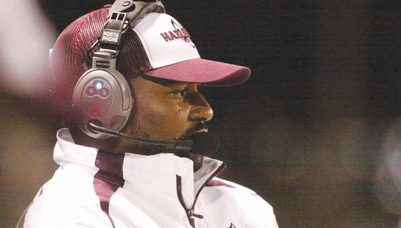 DAILY LEADER / JONATHON ALFORD / Hazlehurst head coach Randal Montgomery and his Indians are ready to defend their reign in Class 3A football as they invade Woodville to tangle with the Wilkinson County Wildcats tonight.