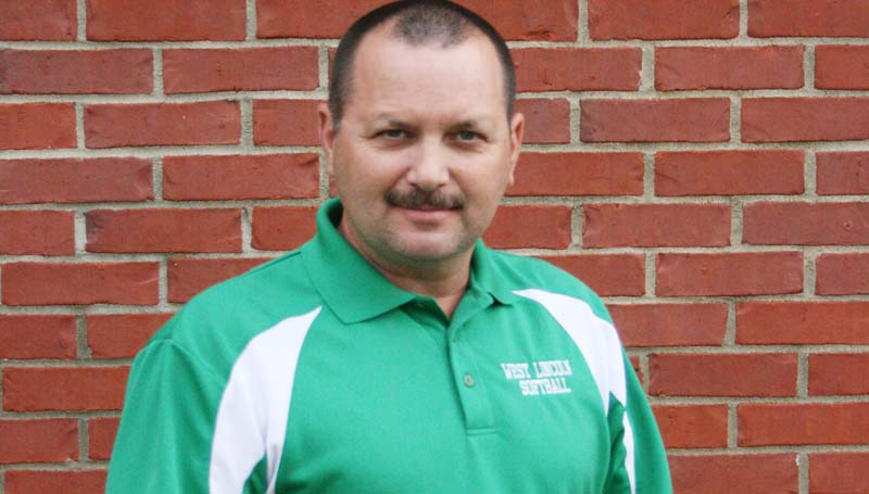 DAILY LEADER / MARTY ALBRIGHT / COACH OF THE YEAR  ANDREW REDD-WEST LINCOLN
