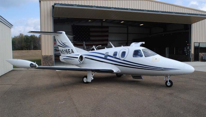 THE DAILY LEADER / JUSTIN VICORY / Executive Air Charter has five jets at its disposal. Each one can reach speeds of up to 400 miles per hour and travel 700 miles nonstop.