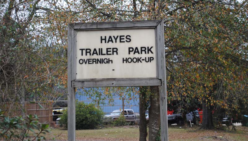 DAILY LEADER / JUSTIN VICORY / A Brookhaven man was shot and killed at the Hayes Trailer Park lot at 401 Industrial Park Road Sunday night.