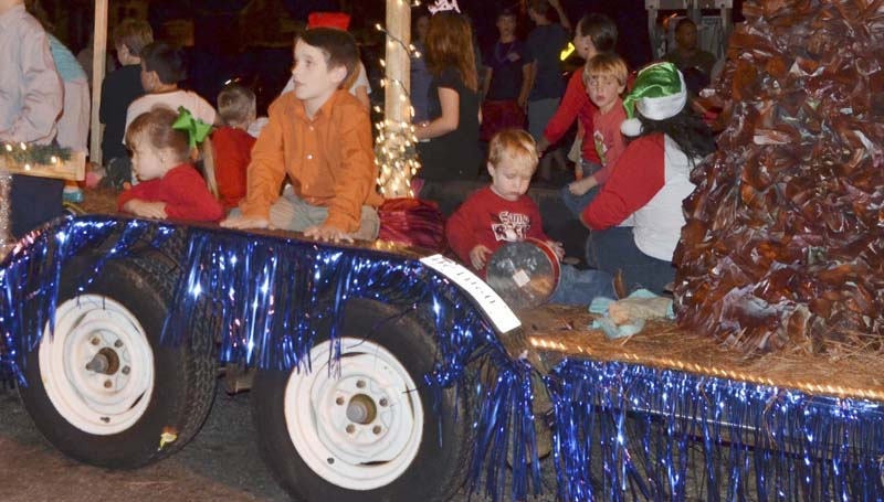 Grace Baptist Church's float earned the prize for most inspirational theme winner.