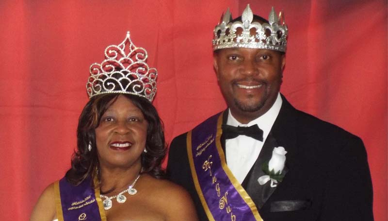 PHOTO SUBMITTED / Alexine and Jeffrey Jordan, a mother and son from Brookhaven, have been named King and Queen of the upcoming Mardi Gras festivities of the Nubian Social Aid and Pleasure Club of Natchez.