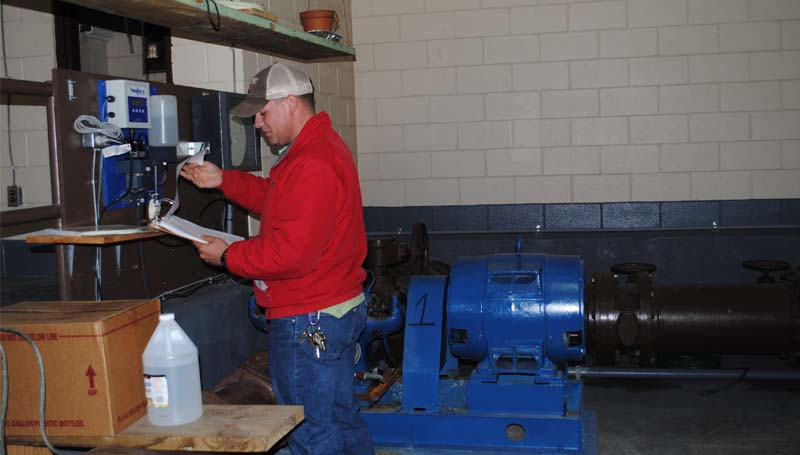 Brookhaven water department assistant supervisor, Kris Xifos, said a cold snap in November helped prepare the city for the recent hard freeze.