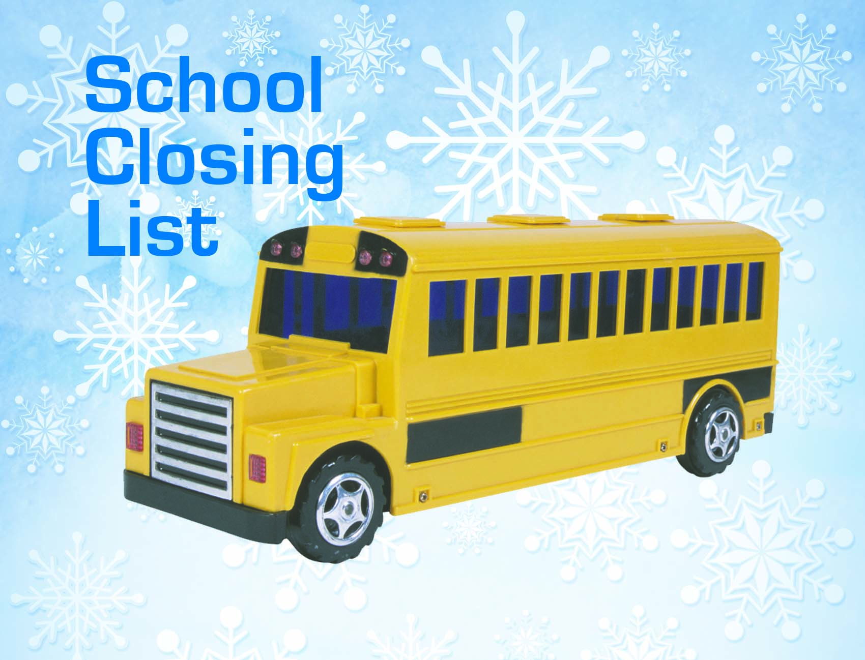 DAILY LEADER GRAPHIC / Area schools have announced closings for Tuesday due to the weather.