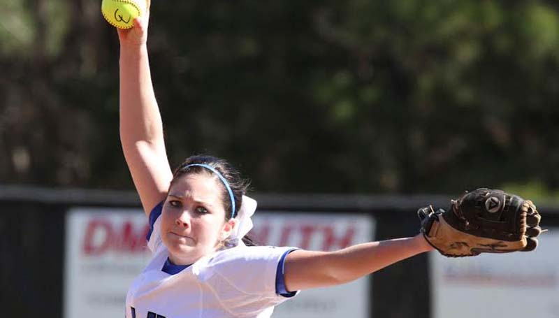 CO-LIN MEDIA / NATALIE DAVIS / Co-Lin's Brooke Gonzales gets her second win of the season Saturday.