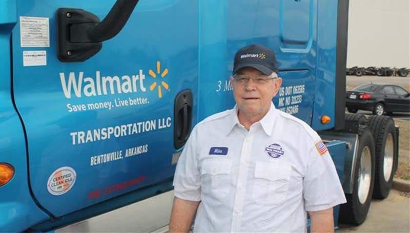 The soon to be retired Grim celebrated one of the most prestigious honors for his profession, a flawless safety record for his entire career of driving for the company. It would take a driver no less than 1,200 trips from New York City to Los Angeles to come close to the three million mile mark.