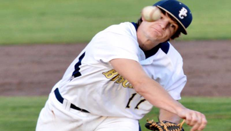 DAILY LEADER / SCOTT BOYD / Bogue Chitto senior Brock Roberts struck out 15 Pelahatchie batters Tuesday night.