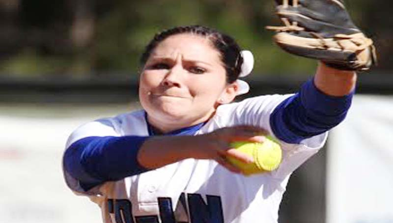 CO-LIN MEDIA / NATALIE DAVIS / Co-Lin pitcher Brooke Gonzales picks up two wins to improve her record to 15-7.