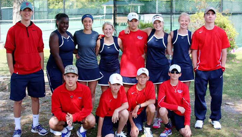 DAILY LEADER / Photo Submitted / The Brookhaven Panthers netters will be participating in the MHSAA 5A Individual Tennis State tournament at Ridgeland Tennis Center this Thursday and Friday. Members of the tennis team are: (first row from left) Jacob Bozeman, Daniel Panzica, Will Moak, Cooper Patteron; (second row) Braxton Hinton, Chantel Quarles, Madison Currie, Sarah Grace Evans, Sarah Rice Warren, Maddie Ogden, Alice Anne Walker and Caleb Owens.
