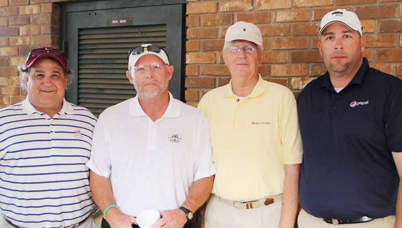DAILY LEADER / Photo Submitted / THIRD PLACE WINNERS - Certified Bureau finished in third place in the King's Daughters Foundation Golf Tournament at the Brookhaven Country Club. Members on the team include Con Coleman, Darren Hirsch, Ray Montalvo and Henry Swalm.