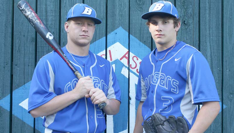 DAILY LEADER / Photo submitted / Landon Nettles and Bailey Warren will put their baseball talents to the test as they represent Brookhaven Academy in the MAIS All-Star baseball game Friday at Jackson's Smith-Wills Stadium.