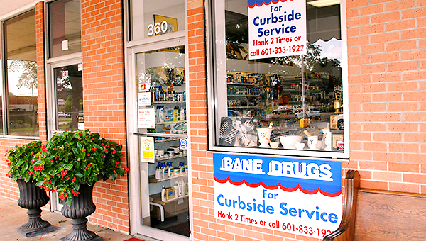 LYNDY BERRYHILL / Bane Drugs, located next to Piggly Wiggly on Monticello Street, is celebrating 60 years in business this year.