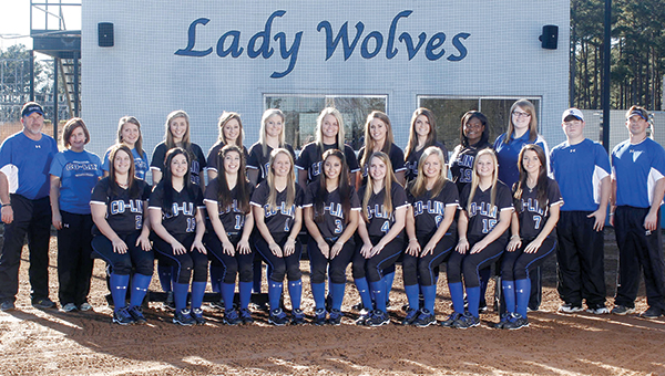 PHOTO SUBMITTED / The 2014 Copiah-Lincoln Community College softball team receives high academic honors.