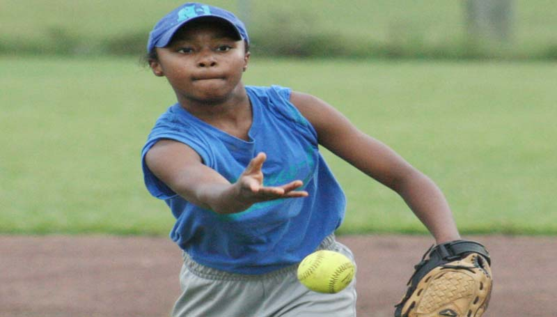 DAILY LEADER / MARTY ALBRIGHT / Ta'Maria Townsend  and her Nexus-1 teammates will be in action Saturday at the Dr. A.L. Lott softball tournament.